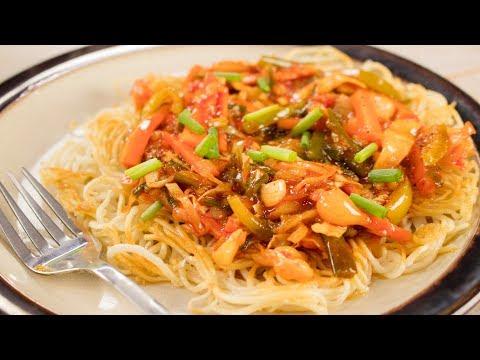 Chopsuey Recipe | Indian Style American Veg Chop Suey Recipe | Indo Chinese Recipes