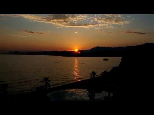 【縮時攝影】美到捨不得睡!亞德里亞海落日
