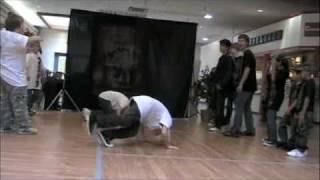 BBOY Battle Josh 9 year old Breakdancing Highlights 2010