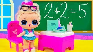 ШКОЛЬНЫЕ СЮРПРИЗЫ! Мультик куклы лол и Барби, Бумажные сюрпризы. Подруги Буги Вуги