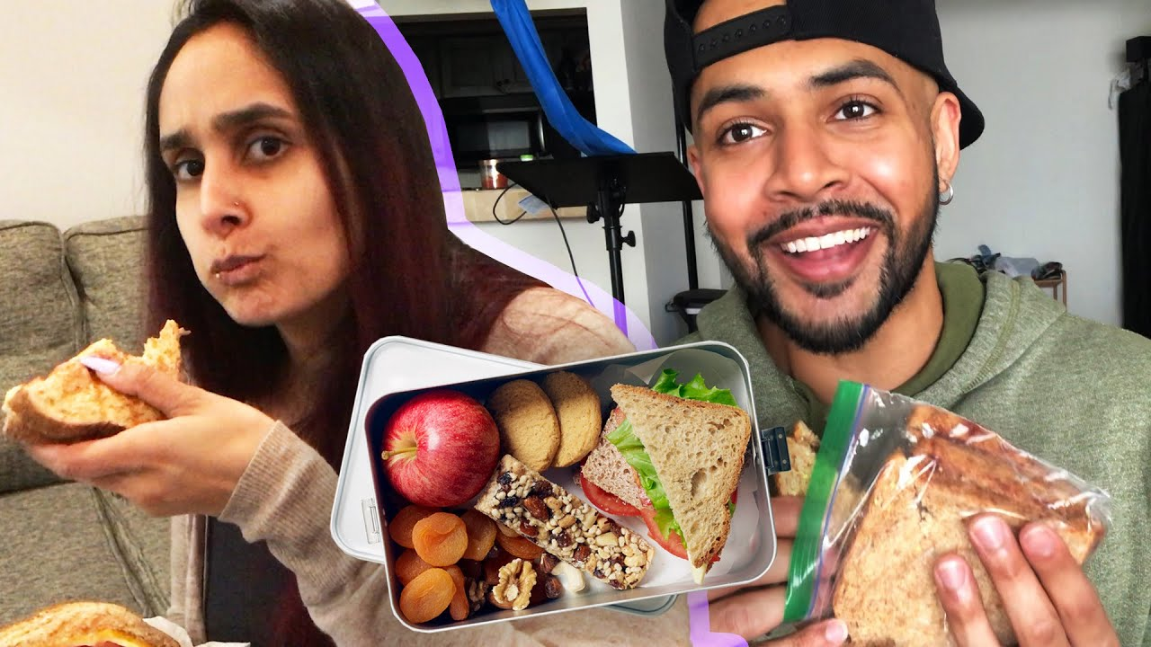 Couple Tries Making Each Other Lunch For A Week thumbnail