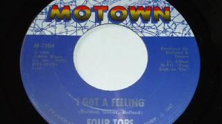 Four Tops - I Got A Feeling  45rpm