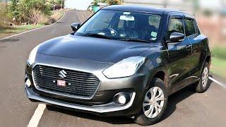 Maruti Suzuki Swift VXI AMT Bs6 2019 real review interior and