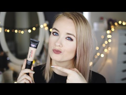HOLY GRAIL FOUNDATION FOR OILY SKIN? || L'Oreal Infallible 24HR Matte Foundation