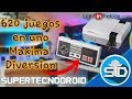 620 Juegos En Uno Mini Consola Nes Unboxing Y Review Li