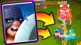 New EXECUTIONER Gameplay // Clash Royale Update