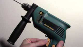 How to use a drill and wall screw