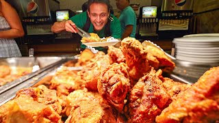 Giant AMISH BUFFET!! Fried Chicken + Beef Brisket | $14.99 All You Can Eat American Country Food!