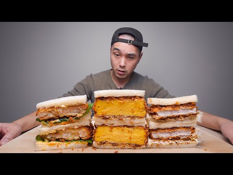 These Look Like Some Crazy Good Sandwiches (Japanese)