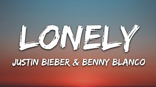 Justin Bieber & benny blanco - Lonely (Lyrics) - YouTube