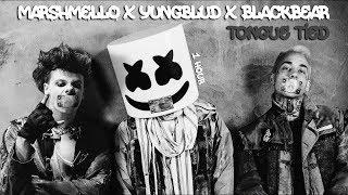 Marshmello X YUNGBLUD X Blackbear   Tongue Tied [1 Hour] Loop
