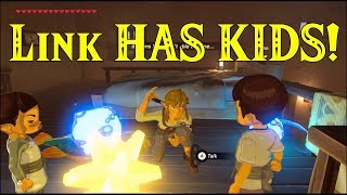 Link HAS KIDS! Finds Out Hes A FATHER In Zelda Breath Of The Wild