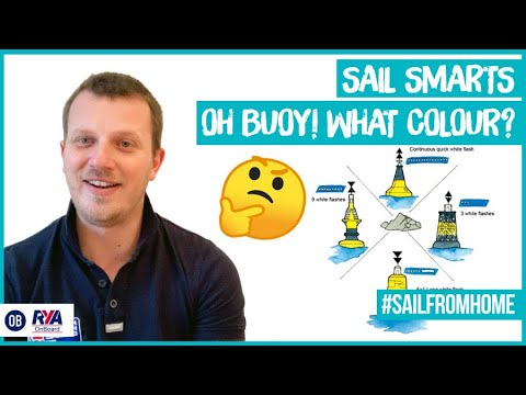 SAIL SMARTS - KIDS ACTIVITY - OH BUOY! WHAT COLOUR? SAIL FROM HOME