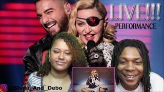 Madonna, Maluma  Medellín Billboard Music Awards Performance