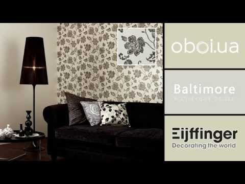Видео Eijffinger Baltimore