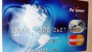 Como Cobrar Dinero Por PayPal Con La Tarjeta Payoneer 2014 | Abrir Cuenta Bancaria En USA GRATIS
