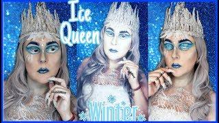 Reyna De Hielo Makeup|Ice Queen Makeup Tutorial|No Se Va El Frio