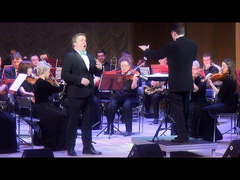 П. Чайковский. Ария Онегина - Эдуард Страхов и Ступинский симфонический оркестр.