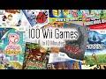 100 Nintendo Wii Games In 10 Minutes