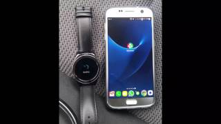 Gear S2 send voice text from watch to phone and run tasker tasks
