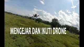 Pertama kali kejar dan ikuti drone dji-fpv dengan dji-fpv juga