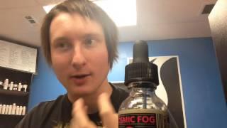 "Cosmic Fog - Church 0MG ""E-Liquid Review"""