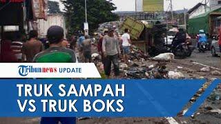 Kecelakaan Maut di Semarang Tewaskan 3 Orang, Melibatkan Truk Sampah dan Truk Boks