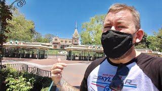 Return Of Disneyland Resort In Anaheim - Downtown Disney Walk Thru / 65th Anniversary Merchandise