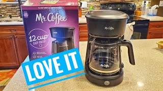 DETAILED REVIEW Mr Coffee 12 Cup Coffee Maker Unboxing How to Make a Pot of Coffee