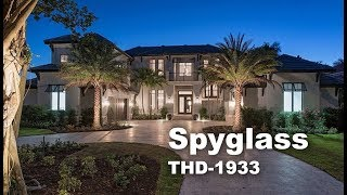 Tour Of Luxury Mediterranean House Plan | THD-1933