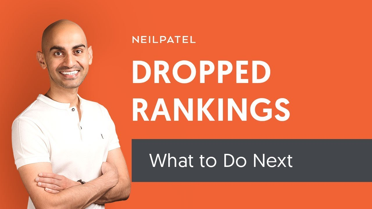 What Should You Do If Your Rankings Drop?