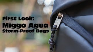 First Look at the Miggo Agua Storm-Proof Bags for Cameras and Drones