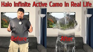 Can You Build Halo Active Camo in Real Life???