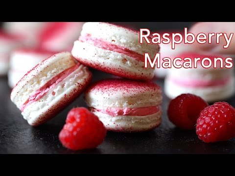 Melt in Your Mouth Delicious French Raspberry Macarons