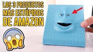 Los 3 INVENTOS MÁS ESTÚPIDOS y LOCOS de AMAZON