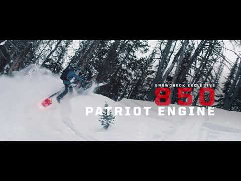 2020 Polaris 800 RMK Khaos 155 SC in Ponderay, Idaho - Video 1