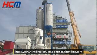 HCQ1500 Grinding mill for the Production of Limestone, Quartz, Fineness 200 Mesh D80