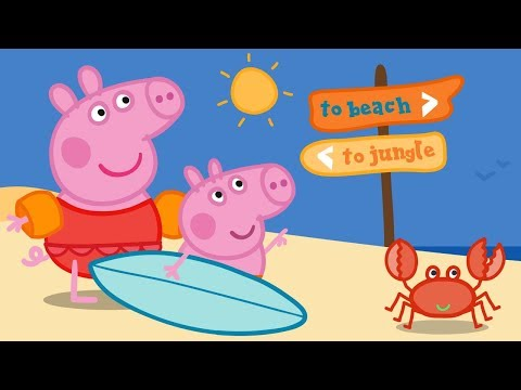 Peppa Pig English Episodes | Splashing Around With Peppa Pig!  Peppa Pig Official