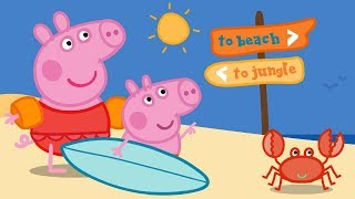 Peppa Pig Official Channel | Splashing Around With Peppa Pig!