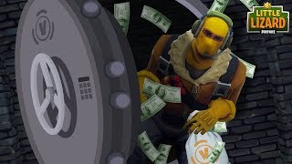 RAPTOR ROBS THE V-BUCK BANK *SEASON 5*Fortnite Short Film