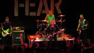 """I DON'T CARE ABOUT YOU  """" FEAR """" THE HOUSE OF INDEPENDENTS   09-19-2018"""