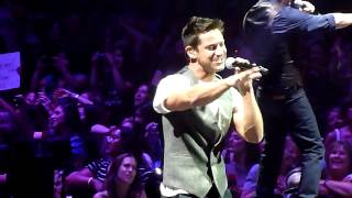 """98 Degrees performing """"Invinsible Man"""" live in San Jose California on Friday July 12, 2013"""