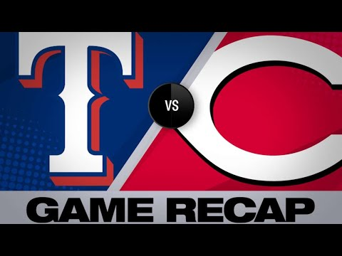 Minor's stellar game leads Rangers past Reds | Rangers-Reds Game Highlights 6/15/19