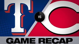 Minor's stellar game leads Rangers past Reds   Rangers-Reds Game Highlights 6/15/19
