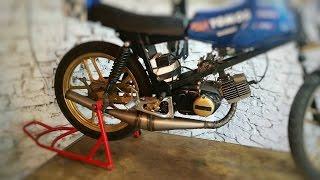 Tomos bt/race#70 new exhaust test!
