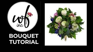 How To Make A Wedding Bouquet - 003