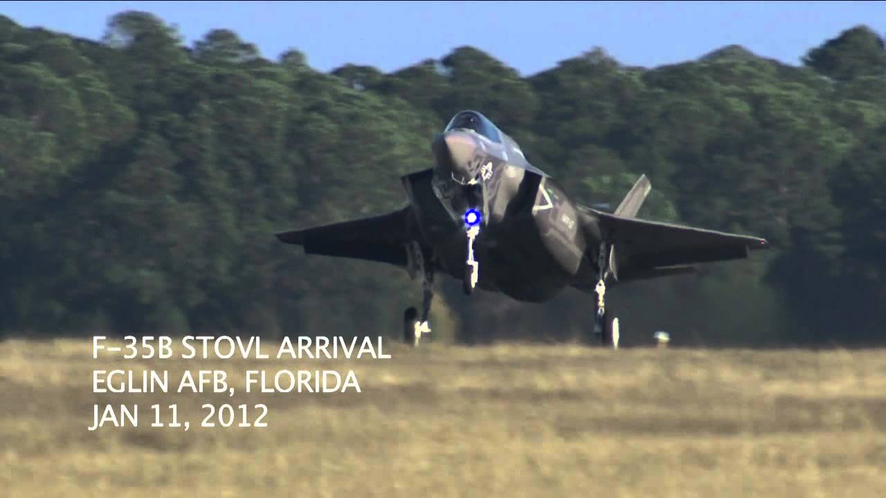 Marines Get The First Two Short Take Off/Vertical Landing F-35 Jets