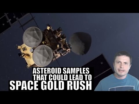 Japanese Asteroid Samples That Could Lead to Space Gold Rush in 2020