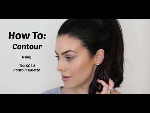 How To Contour (using my #SOSUcontour Palette)