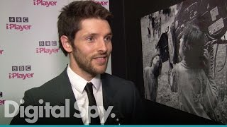Колин Морган, Colin Morgan talks to us about new series 'The Living And The Dead'